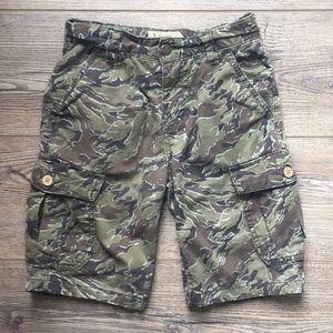 EUC Lucky Brand Camouflaged Cargo Shorts
